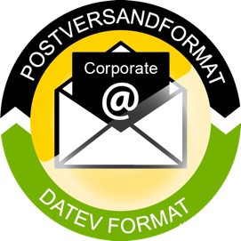 PP - Postversandformat 2 DATEV Format Corporate ASP / Server 2 user