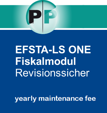 EFSTA Fiskal Beleg Modul  yearly maintenance fee
