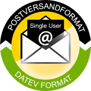 PP - Postversandformat 2 DATEV Format single user